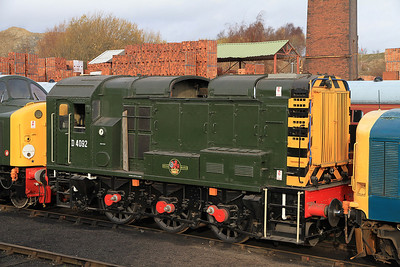 D4092 in the yard at BH - 04/12/2011.