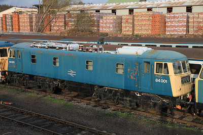 84001 in the yard at BH - 04/12/2011.