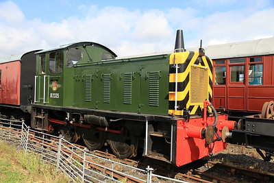 D2325 in the sidings at Mangapps awaiting it's first outing on the passenger shuttles - 27/08/11.