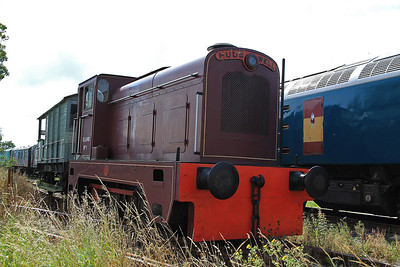 Elland No.1, Ex NCBOE, Bowers Row (HC D1153/1959) on display at Mangapps - 27/08/11.