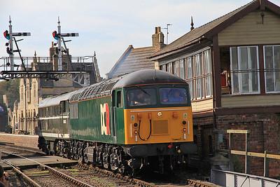 56303 / 31190 run L.E. past Wansford SB - 01/10/11.