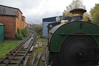 in the loco shed siding - 04/11/12.