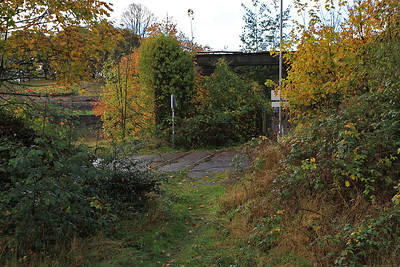 the OOU link to Ashton Jctn. on the Portbury branch can just be seen - 04/11/12.