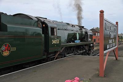 34053, Kidderminster, 07.30 to Bridgnorth - 23/09/12.
