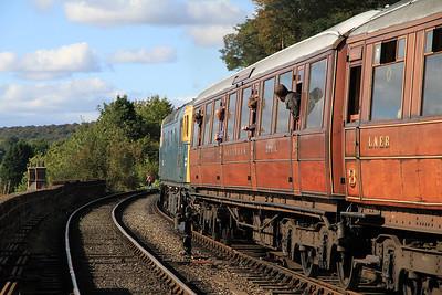 33108 dep Bewdley, 14.24 Kidderminster-Bridgnorth - 06/10/12.