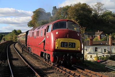 D821 arr Bewdley, 14.19 Bridgnorth-Kidderminster - 06/10/12.