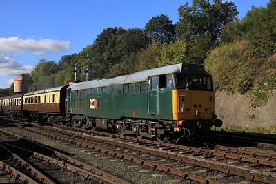 31601 dep Bewdley, 15.01 shuttle to Kidderminster - 06/10/12.