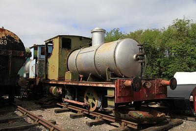 AB 1477/1916 (0-4-0F, Ex LaPorte Chemicals, Luton), Quainton Rd., awaiting restoration - 05/05/13.