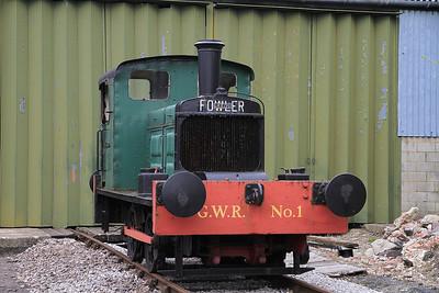JF 20067/1933 'GWR No.1' (Ex Osram-GEC, Nth Wembley), Quainton Rd. - 05/05/13.