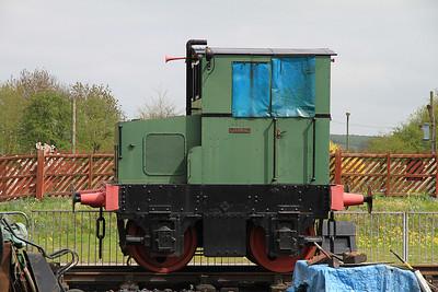 FH 3765/1955 'Tarmac', Quainton Rd. - 05/05/13.