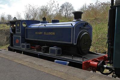 AB 2217/1947 'Henry Elliston', Ravenstor, 12.05 to Wirksworth - 06/05/13.