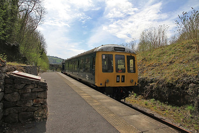 Class 108 DMU 50599 about to leave Ravenstor behind AB 2217/1947 'Henry Elliston' - 06/05/13.