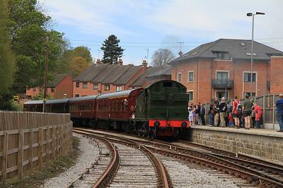 5643, Duffield, 12.20 ex Wirksworth - 06/05/13.