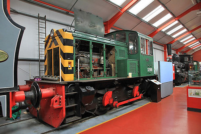BT 91/1959 'D2999', ex Ex Orb Steelworks, inside the 'Engine House' at Moor Rd.