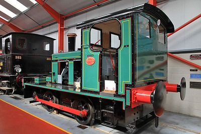JF 3900002/1945, Ex Keighley Gas Works & G.Cohens, inside the 'Engine House' at Moor Rd.