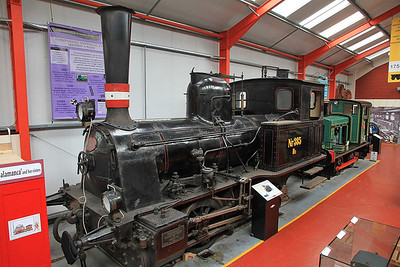 Ex-DSB 385 inside the 'Engine House' at Moor Rd.