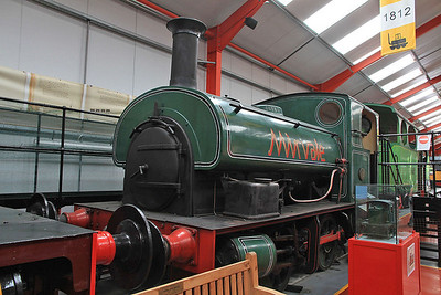 HC 1882/1955 'Mirvale', Ex Mirvale Chemicals, Yorks, Pickering & Haworth, inside the 'Engine House' at Moor Rd.
