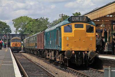 25057, Sheringham, 2C17 12.34 ex Holt - 16/06/13.