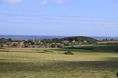 Coastal view near Weybourne - 16/06/13.