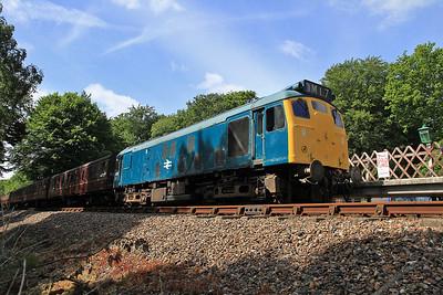 25057, Holt, 2C07 10.33 to Sheringham - 16/06/13.