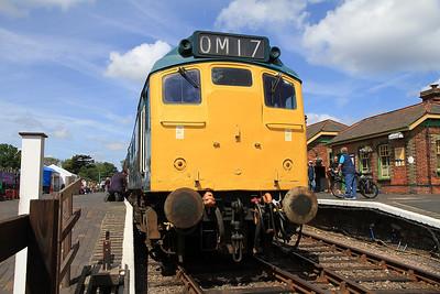 25057, Sheringham, 2C07 10.33 ex Holt - 16/06/13.