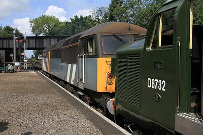 D6732 (37032) / 56301, Sheringham, 1M14 11.21 to Holt - 16/06/13.