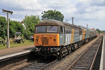 56301 / 33108, Sheringham, 2M22 13.15 to Holt - 16/06/13.