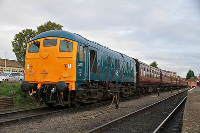 24081, Kidderminster, on the stock to form the 10.40 to Bridgenorth  - 05/10/13.