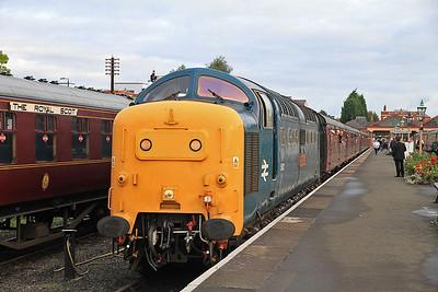 55002, Kidderminster, 09.10 to Bridgenorth  - 05/10/13.