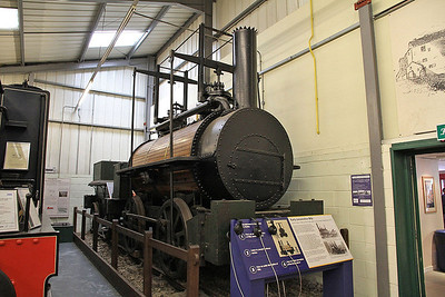 RS A4/1826 'Billy' (Ex-Killingworth Colliery) on display inside the Stephenson Railway museum - 01/06/13.