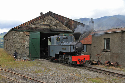KS 2405/1915 'Joffre' outside the Engine House - 28/07/13.
