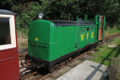 'Dudley' (G&SLE 1957), Lakeview, 12.00 ex Windmill Farm  - 25/08/13.