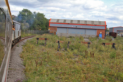 73118 approaching the shed at Barry, 11.45 Barry Island-Gladstone Bridge - 16/08/14.