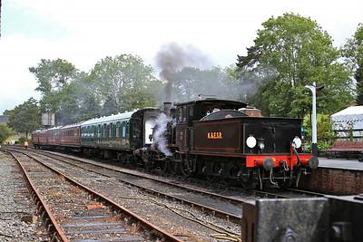 376, Tenterden, 14.20 to Bodiam - 23/08/14.