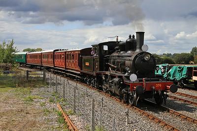 376 arr Northiam, 13.10 Bodiam-Tenterden - 23/08/14.