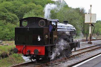 RSH 7086/1943 '68005 / Norman', Bolton Abbey  - 04/05/14.