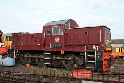 D9523, Wansford shed - 28/09/14.