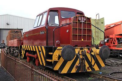 'Barabel' (RR 10202/1964), Wansford shed - 28/09/14.