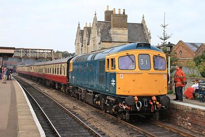 33035, Wansford, 2E45 09.52 Yarwell Jctn.-Peterborough NV - 28/09/14.