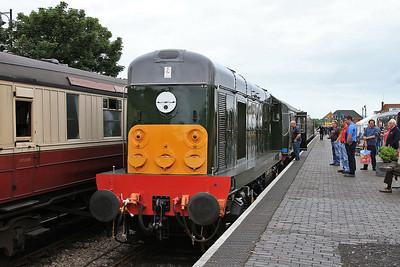 D8059 (20059), Sheringham, 2M08 10.05 to Holt - 14/06/14.