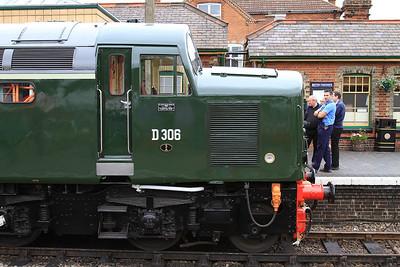 D306 (40106), Sheringham, 2C03 09.15 ex Holt - 14/06/14.