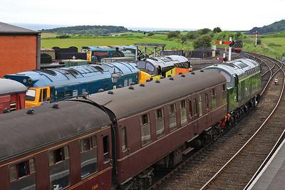 D306 (40106), Weybourne, 2C03 09.15 Holt-Sheringham - 14/06/14.