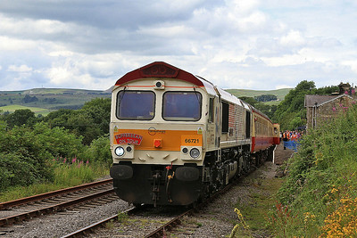 66721, Redmire, 13.05 to Leeming Bar - 20/07/14.