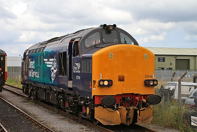 37218 running round at Leeming Bar - 20/07/14.
