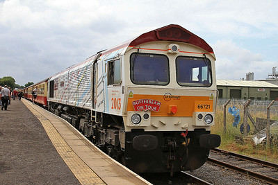 66721, Leeming Bar, 13.05 ex Redmire - 20/07/14.