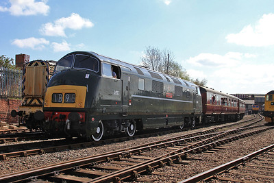 D832 performing on a shuttle service - 18/04/15.