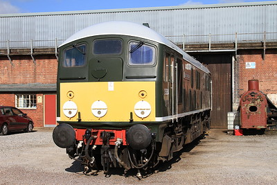 D5054 on display behind the Roundhouse - 18/04/15.