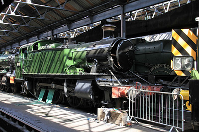 6106 on display inside the shed - 22/08/15.