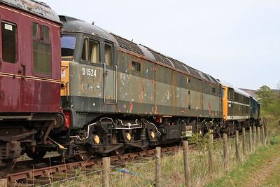 D1524 (47004), Bolton Abbey - 04/05/15.