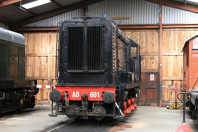 AD 601 in the shed at Haverthwaite - 15/07/15.